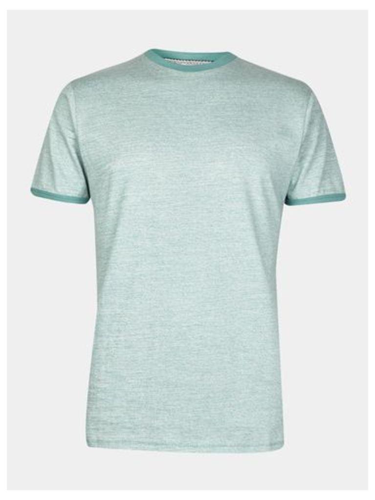 Mens Threadbare Sea Green T-shirt*, SEA GREEN