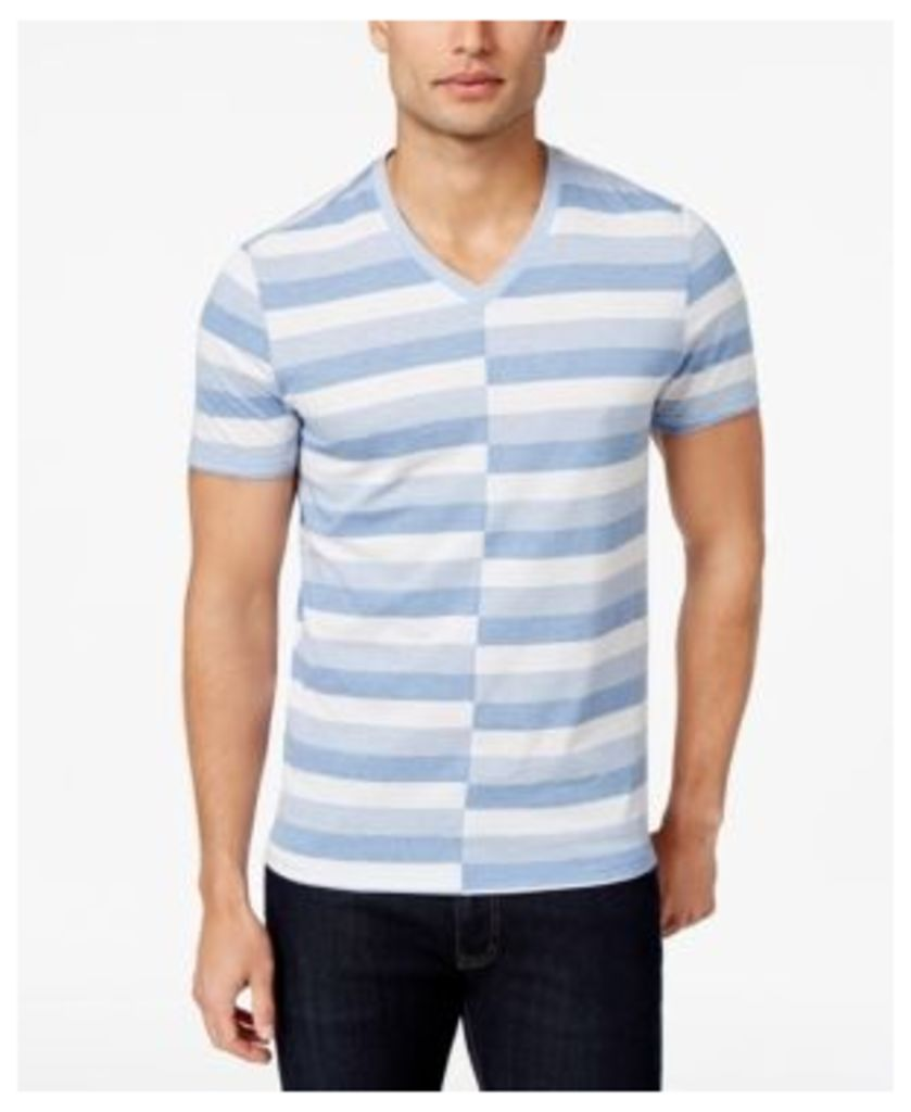 Inc International Concepts Men's Alternating Striped T-Shirt, Only at Macy's