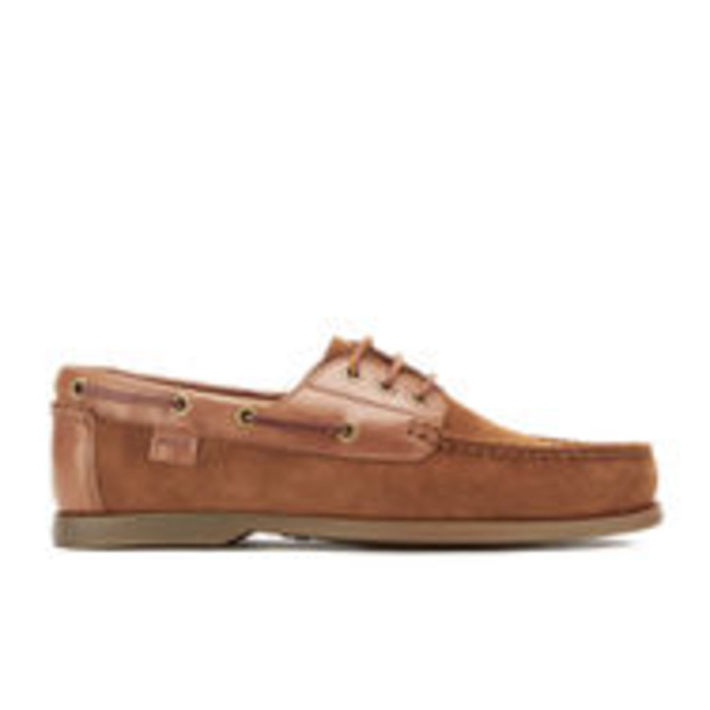 Polo Ralph Lauren Men's Bienne II Suede Boat Shoes - New Snuff/Polo Tan - UK 7