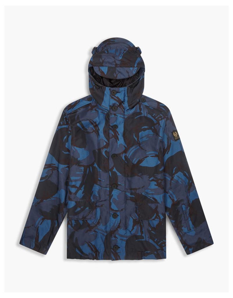 Belstaff Sophnet Westbury Parka Jacket Dark Indigo