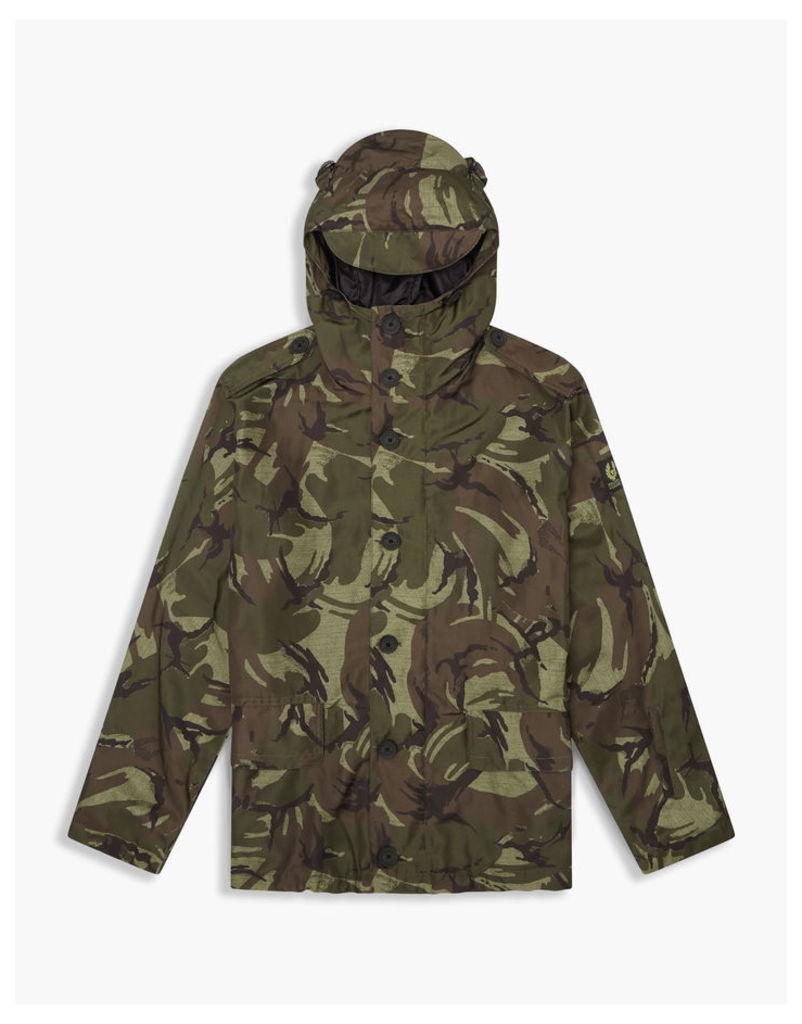 Belstaff Sophnet Westbury Parka Jacket Leaf Green