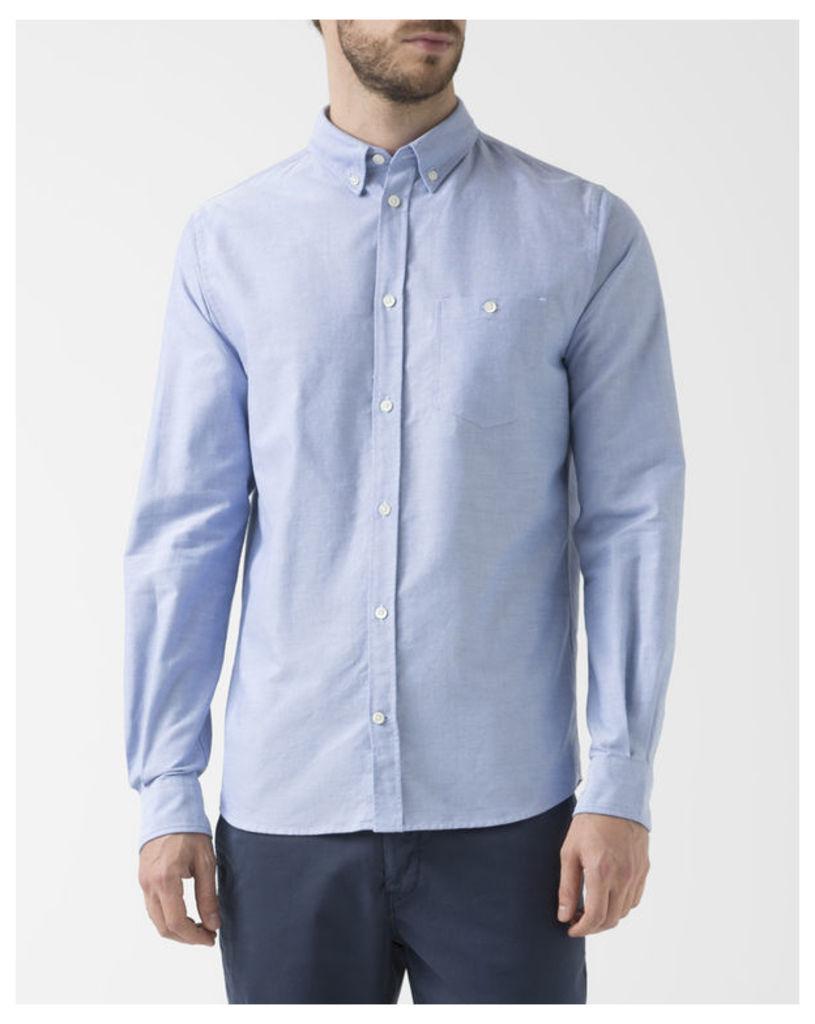 Blue Anton Oxford Shirt