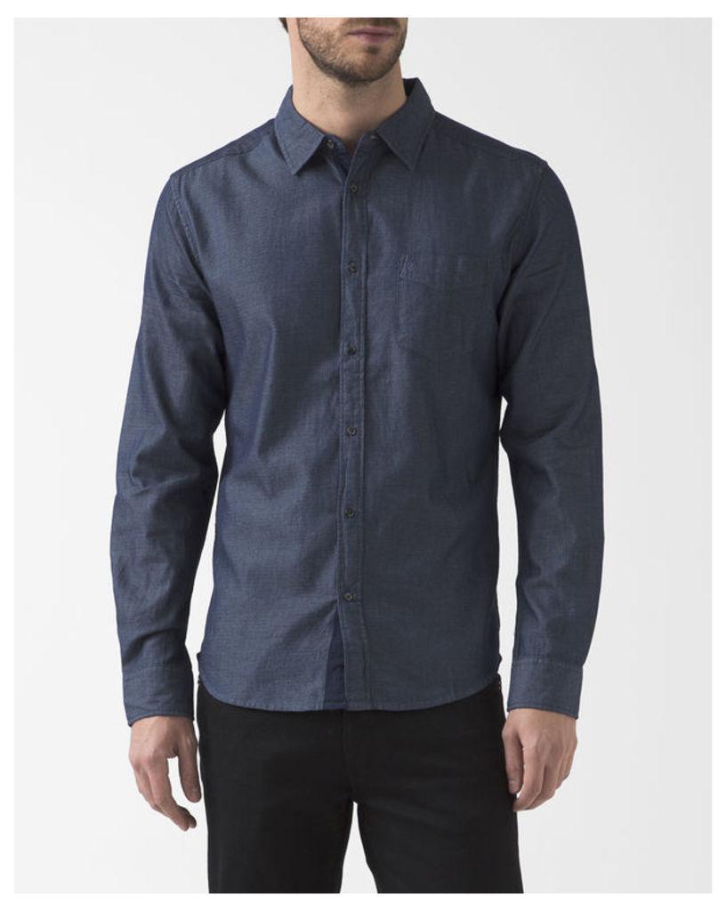 Oklahoma Blue Chambray Denim Shirt