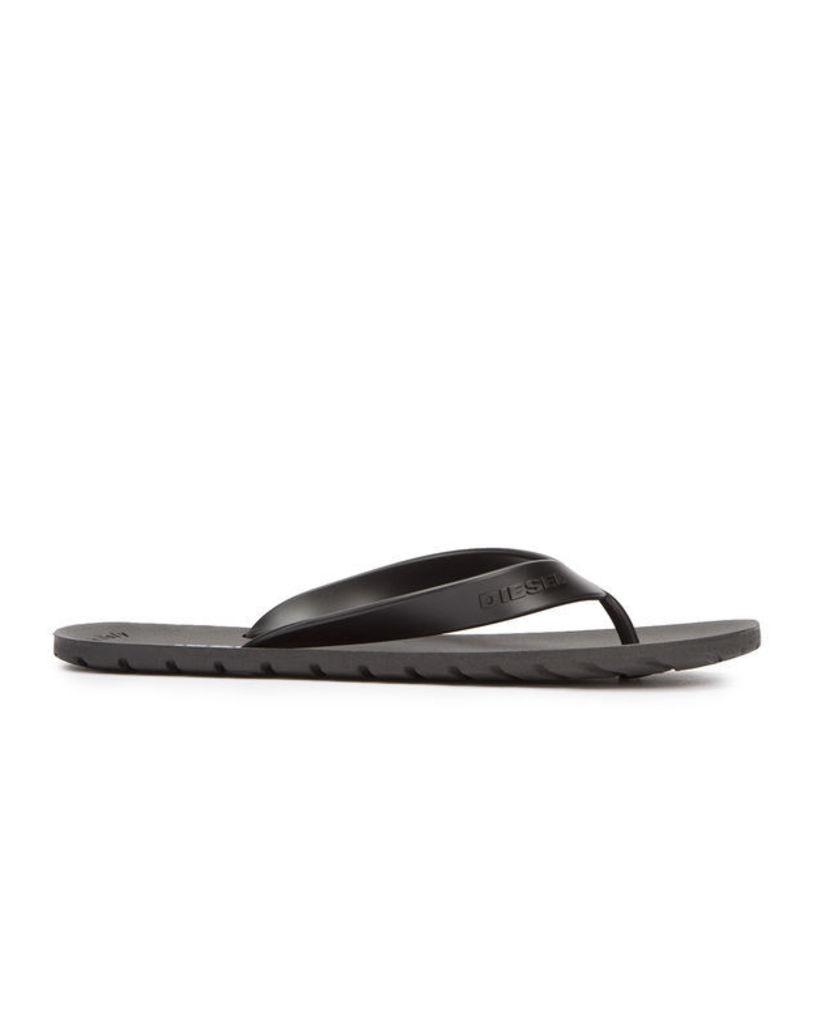 Black Splish Flip-Flops