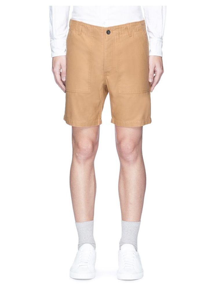 Cotton chino shorts