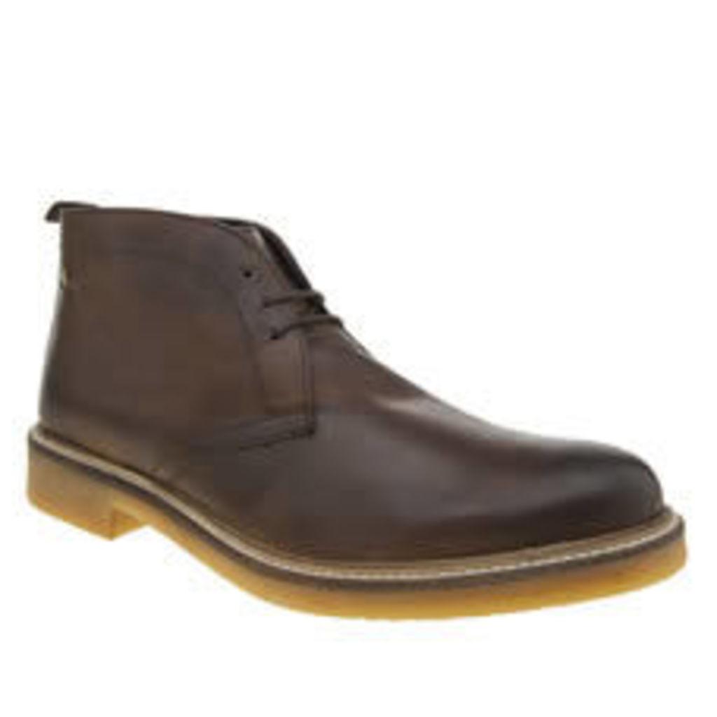 Base London Brown Rufus Boots