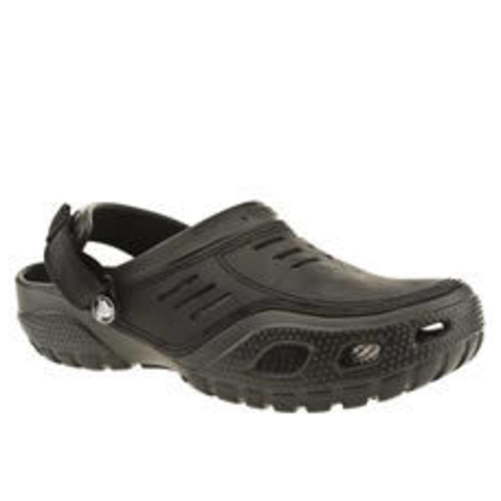 Crocs Black Yukon Sport Sandals
