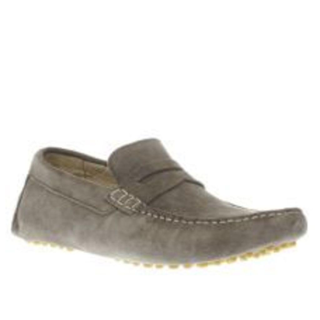 Ikon Grey Nico Driver Shoes