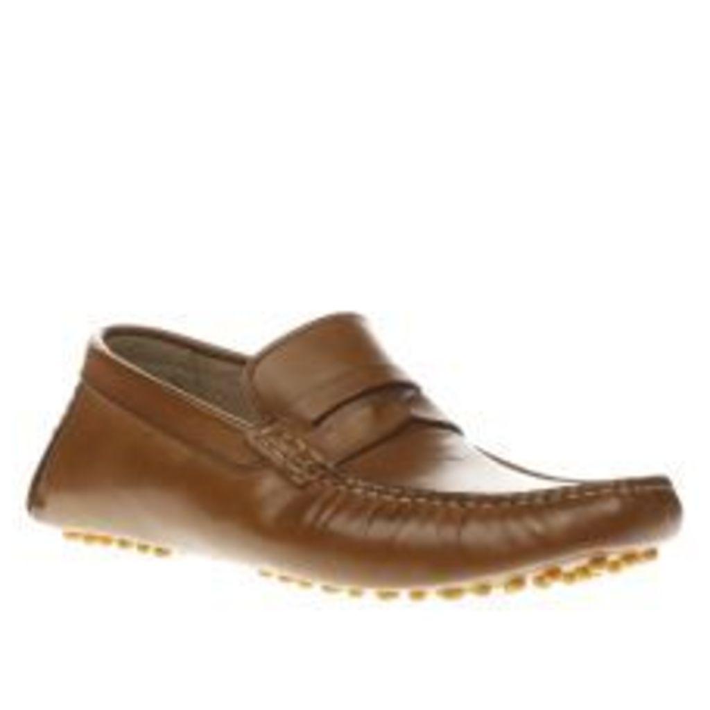 Ikon Tan Nico Driver Shoes