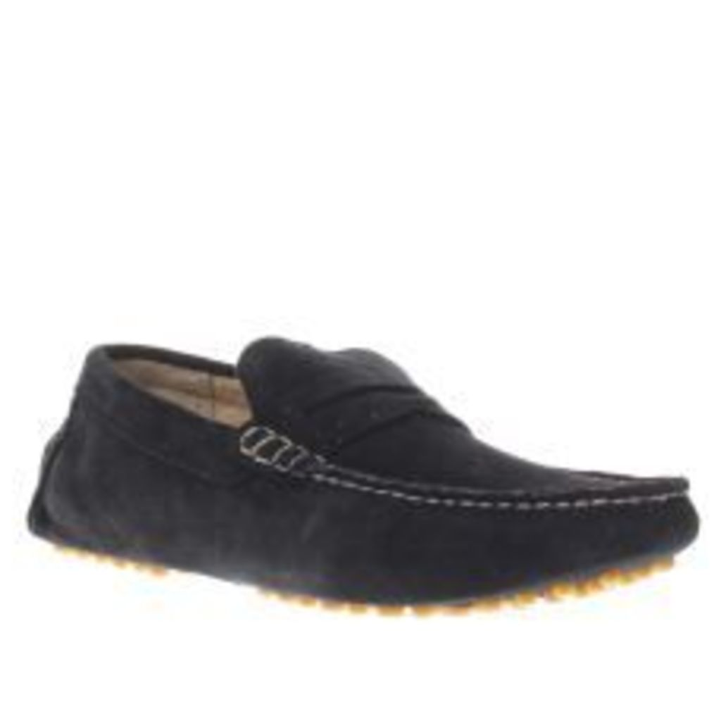 Ikon Navy Nico Driver Shoes