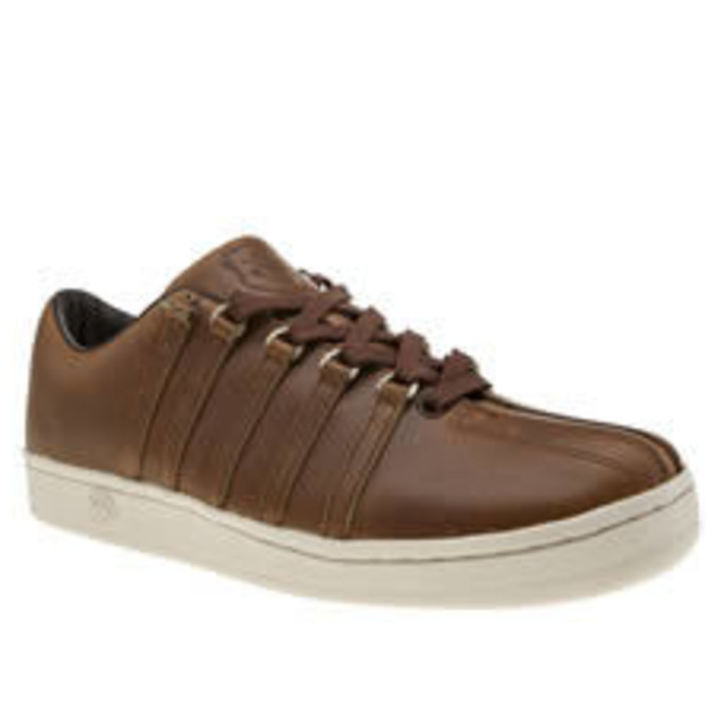 K-swiss Tan Classic 88 Horween Trainers
