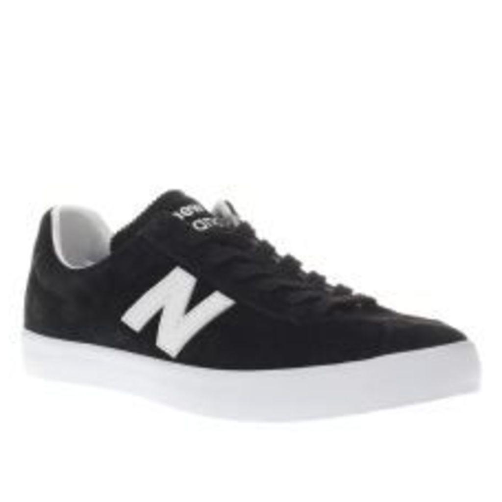 New Balance Black & White Tempus Trainers