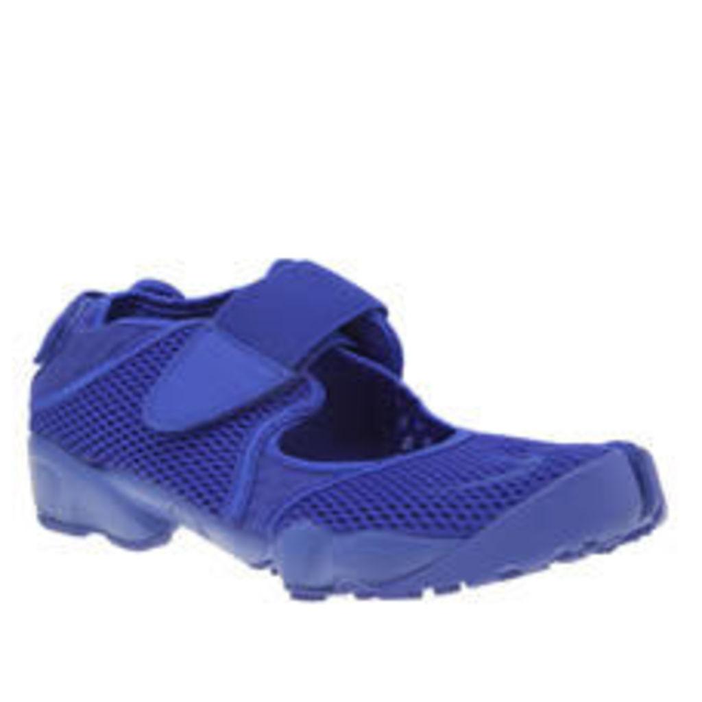 Nike Blue Air Rift Breathe Trainers