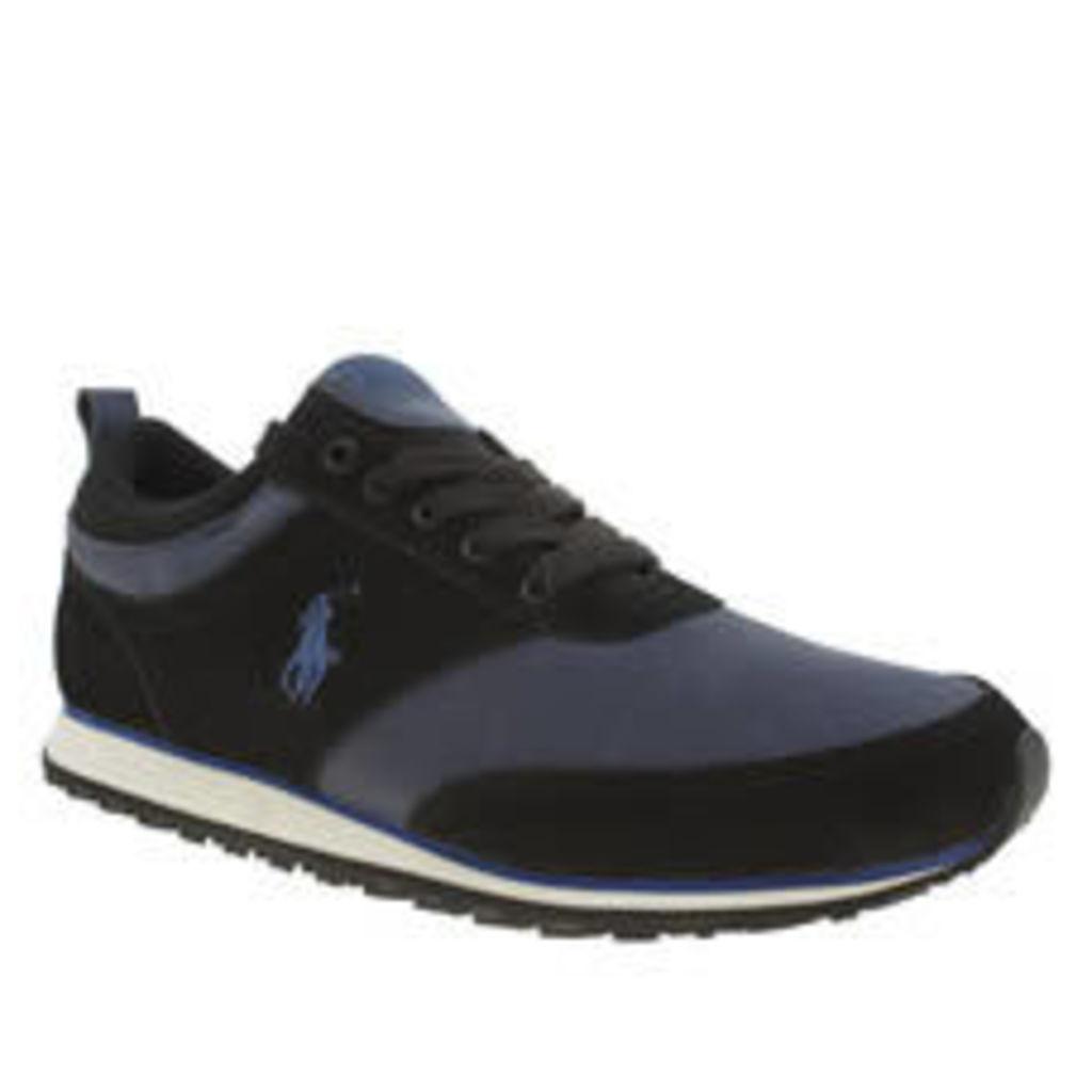 Polo Ralph Lauren Black & Navy Ponteland Shoes