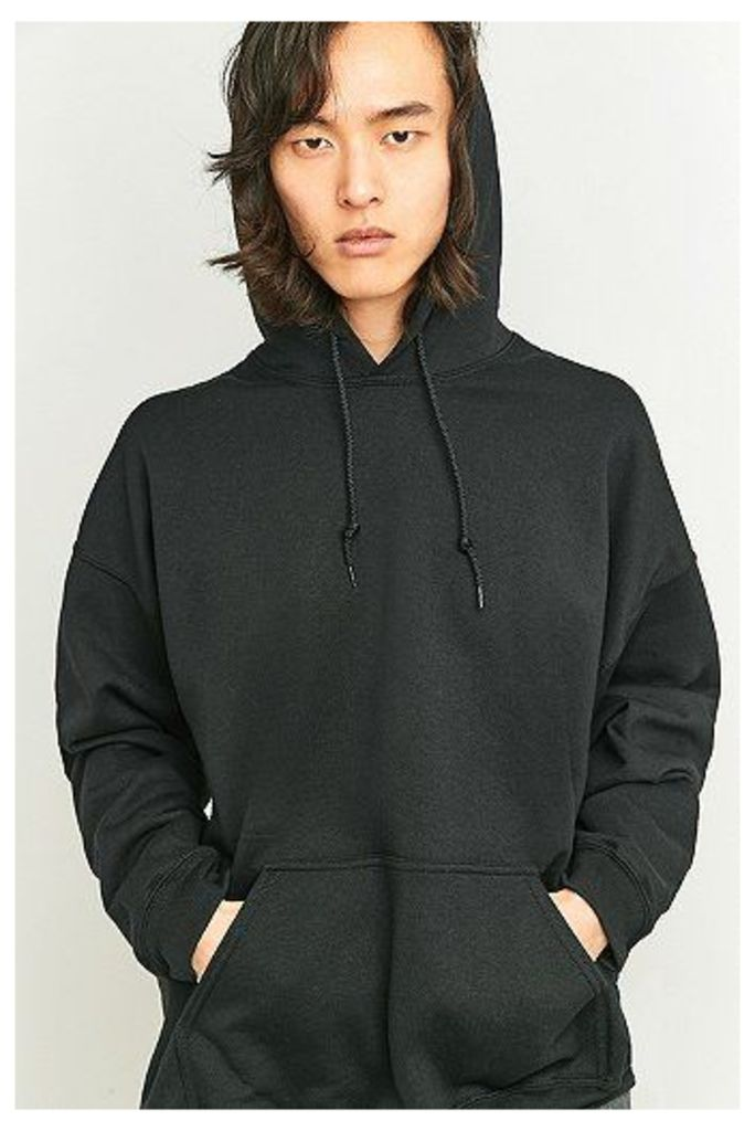 Urban Outfitters Black Oversized Hoodie, Black