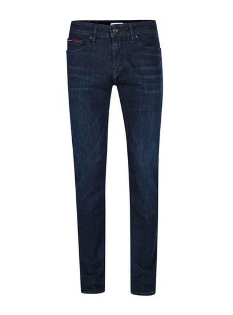 Mens HILFIGER DENIM Blue Slim Jeans, Blue