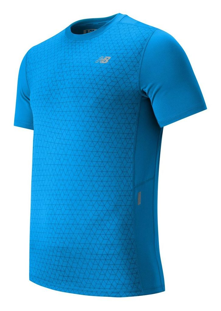New Balance NB Ice Short Sleeve Men's Apparel Outlet MT53224BOP