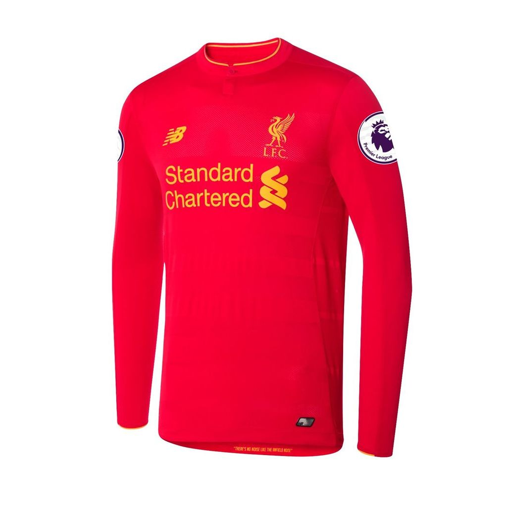 New Balance LFC Mens Firmino Home EPL Patch LS Jersey Men's 2016/17 Players' Home Kits MT63000211Y