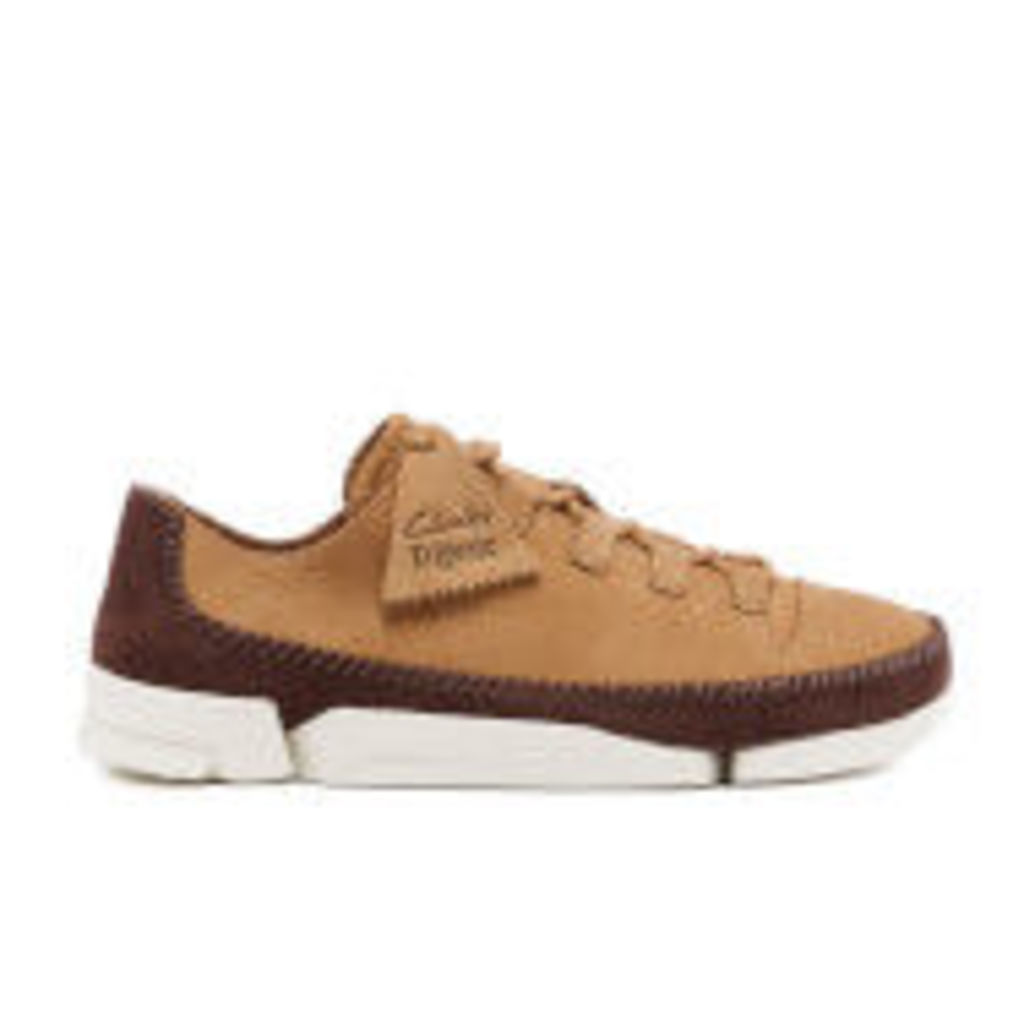 Clarks Originals Men's Trigenic Flex 2 Shoes - Fudge Nubuck - UK 7