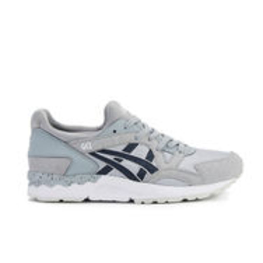 Asics Men's Gel-Lyte V Trainers - Light Grey/Indian Ink - UK 8