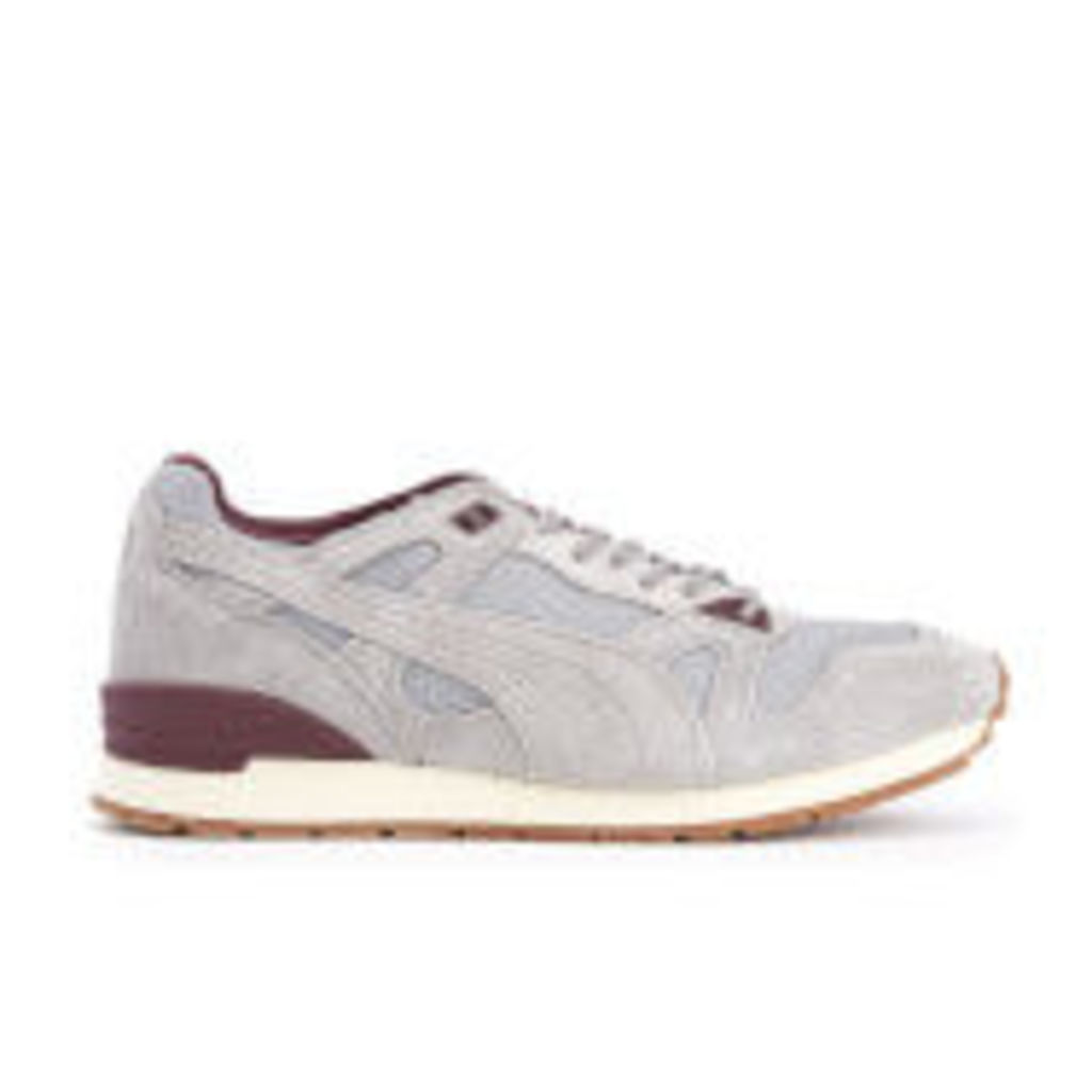 Puma Men's Duplex Winter Casual Trainers - Drizzle/Winetasting - UK 8