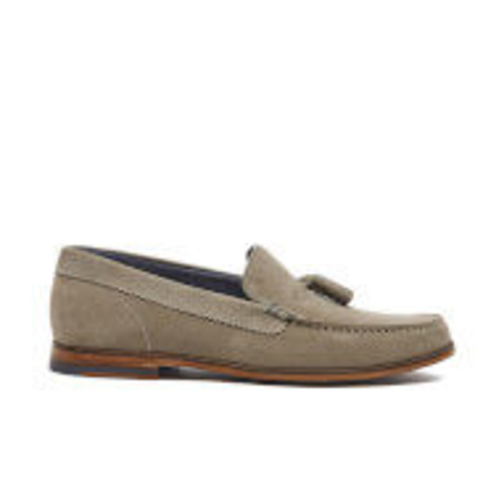 Ted Baker Men's Dougge Suede Tassel Loafers - Light Tan - UK 11