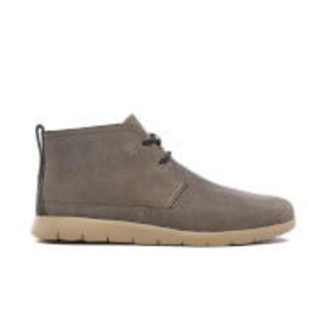 UGG Men's Freamon Capra Treadlite Leather Chukka Boots - Mole - UK 8
