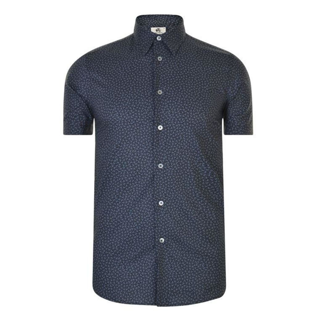 PS BY PAUL SMITH Slim Fit Patterned Shirt