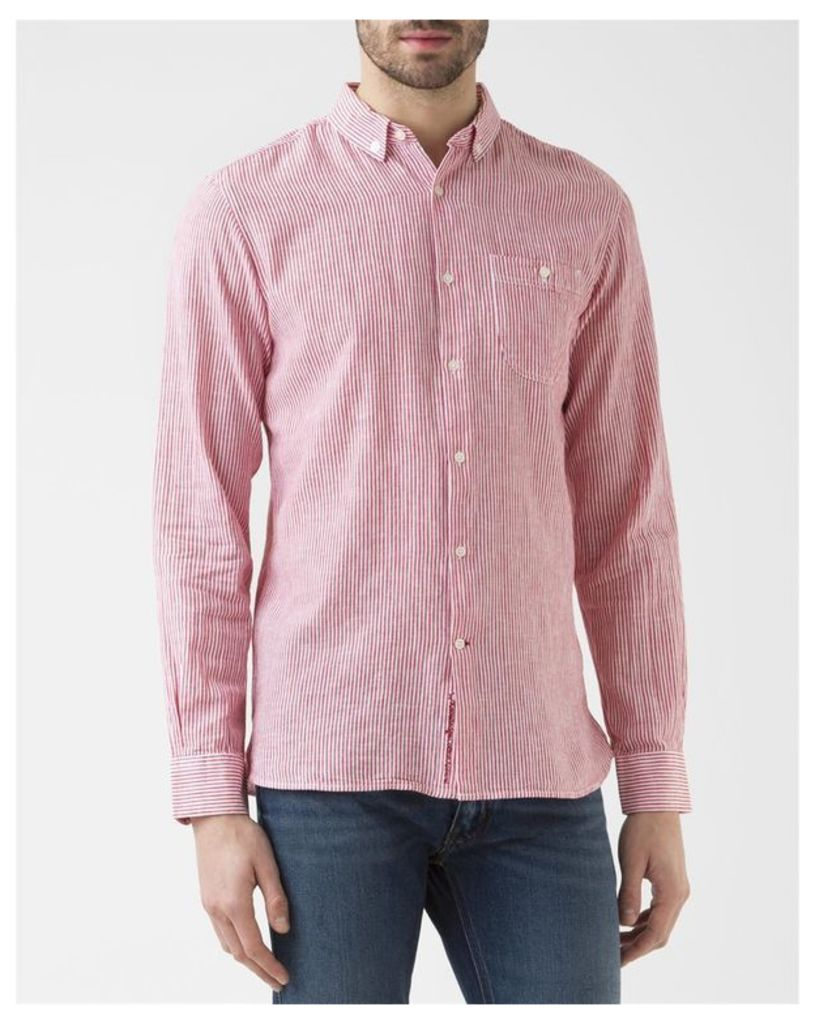 Red Yarn Shirt
