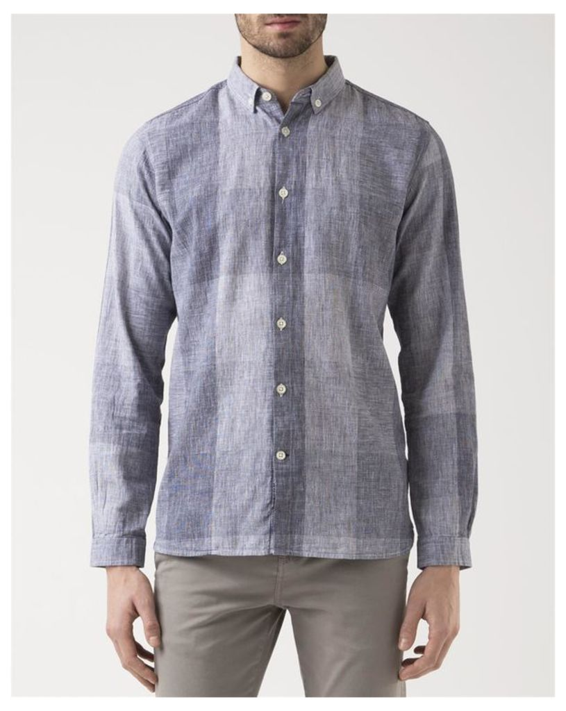 Gray Print Shirt
