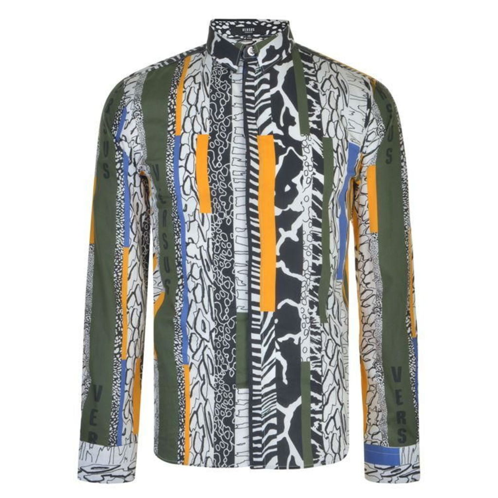 VERSUS VERSACE Patterned Shirt