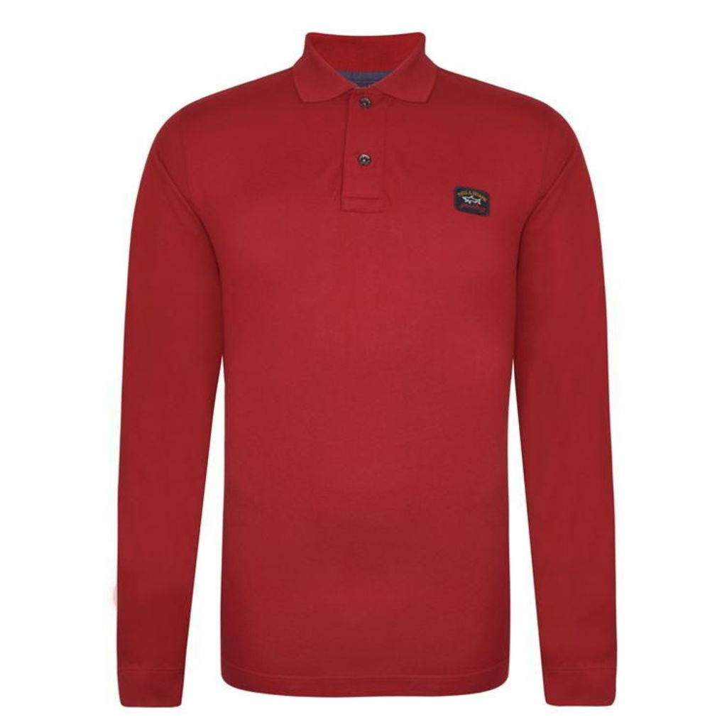PAUL AND SHARK Long Sleeved Polo Shirt