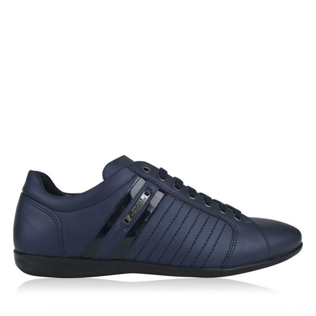 VERSACE COLLECTION Low Top Matte Trainers