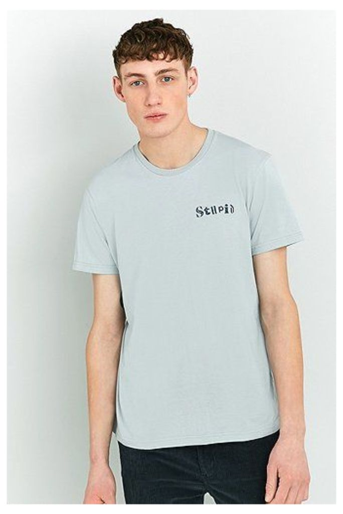 Edwin Sky Blue Stupid T-shirt, Sky