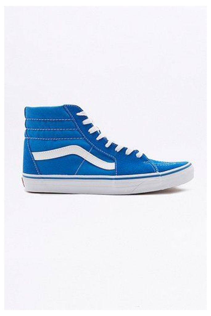 Vans Sk8-Hi Imperial Blue Suede Trainers, Blue