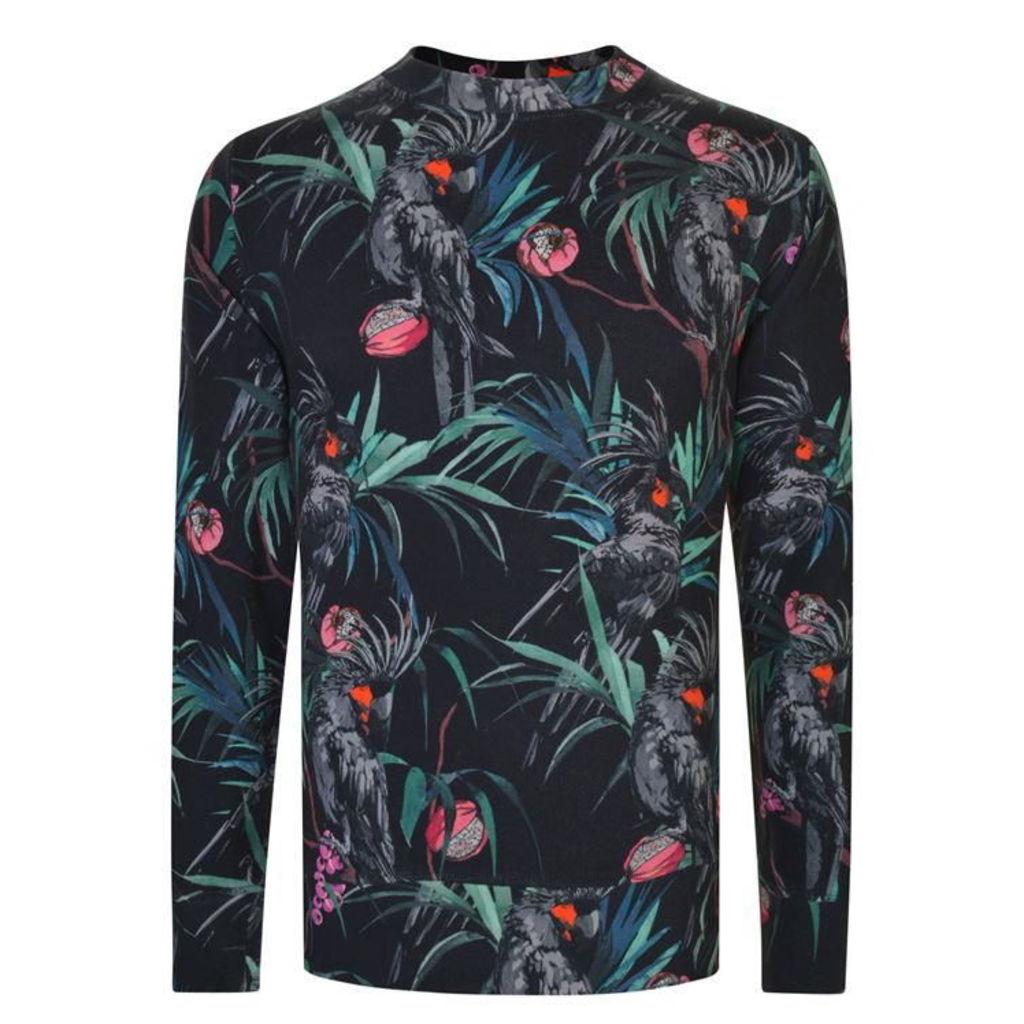 PS BY PAUL SMITH Jungle Print Sweatshirt