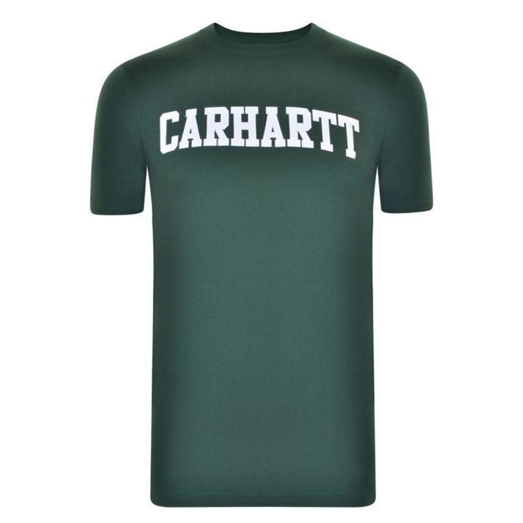 CARHARTT Short Sleeved College T Shirt