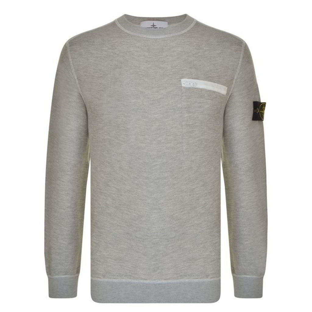 STONE ISLAND Front Pocket Sweatshirt