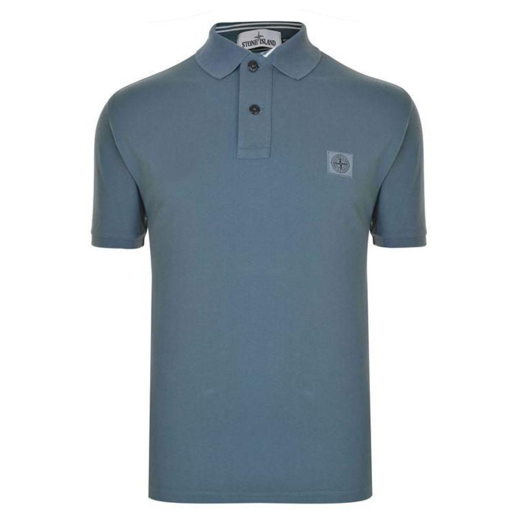 STONE ISLAND Short Sleeved Polo Shirt