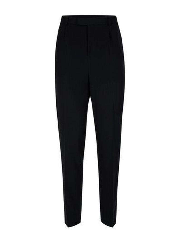 Mens TOPMAN DESIGN Black Tailored Trousers, Black