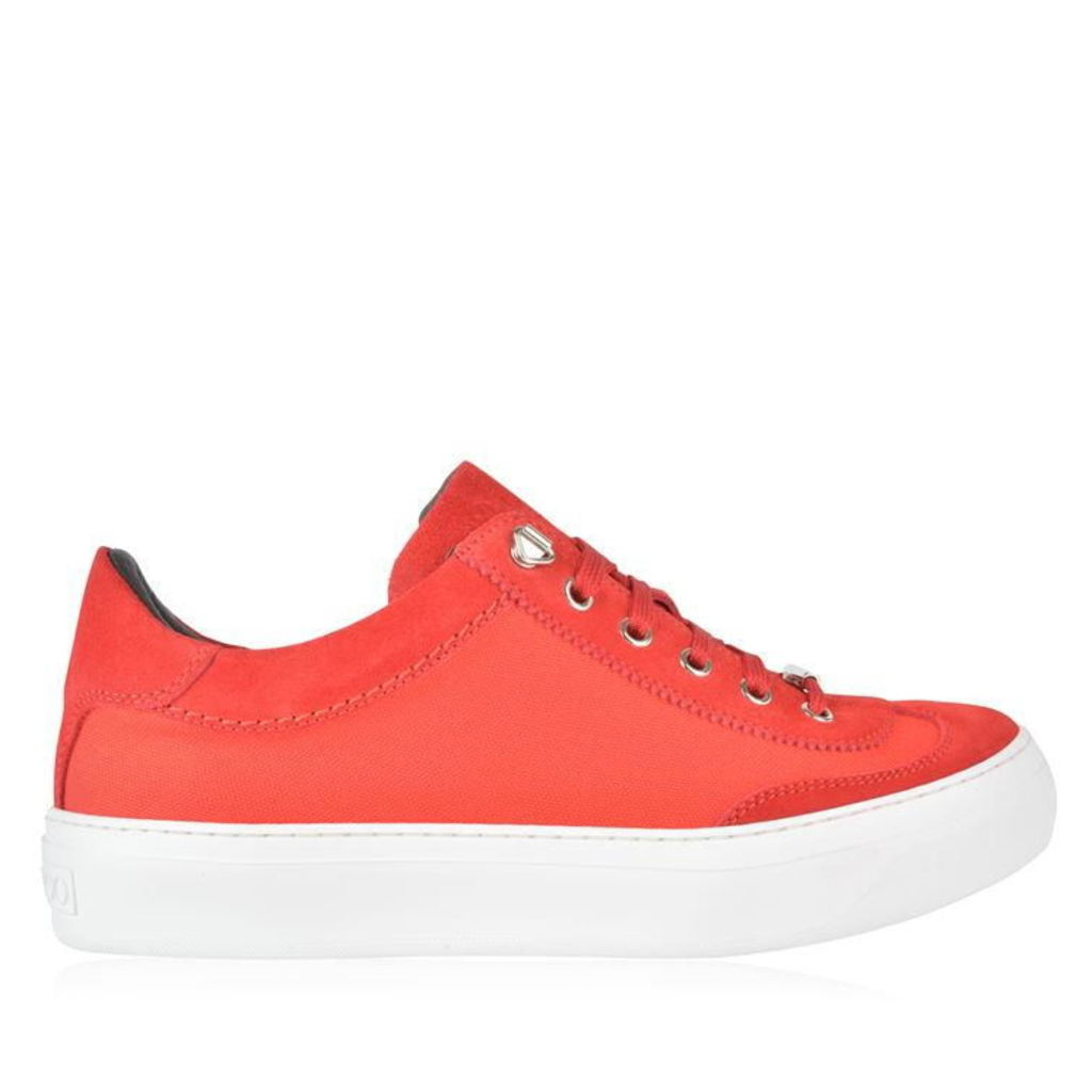 JIMMY CHOO Mesh Panel Ace Low Top Trainers