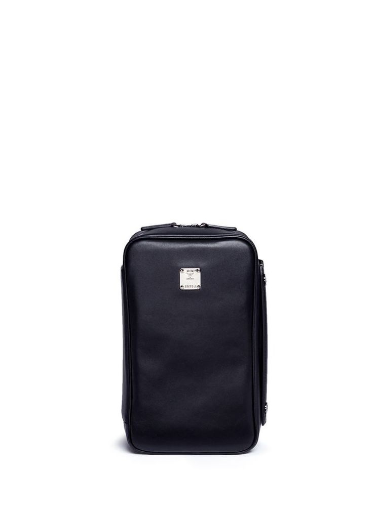 'Jet Pack' leather modular box bag