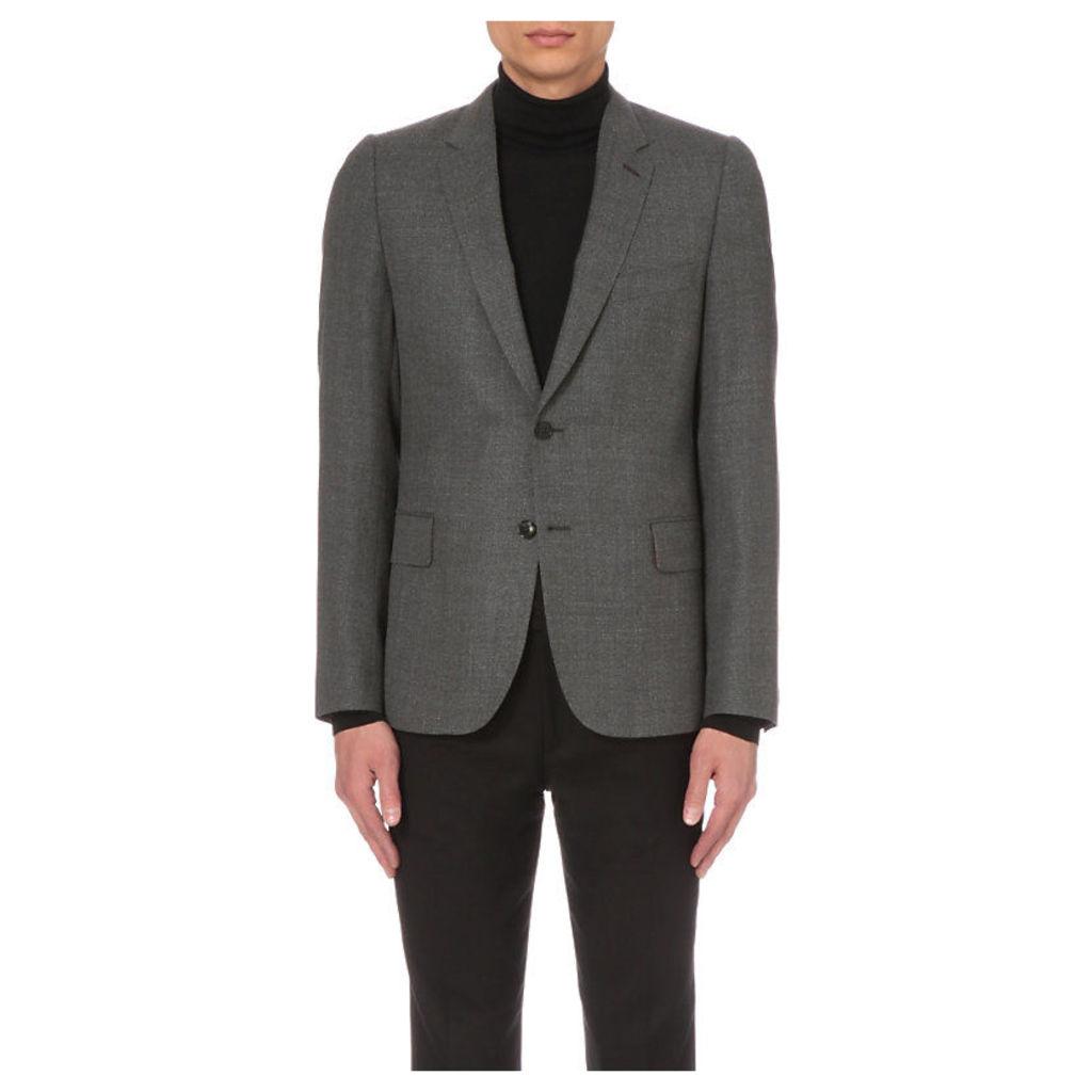 Paul Smith Soho-fit wool jacket, Mens, Size: 04/02/1900, Grey
