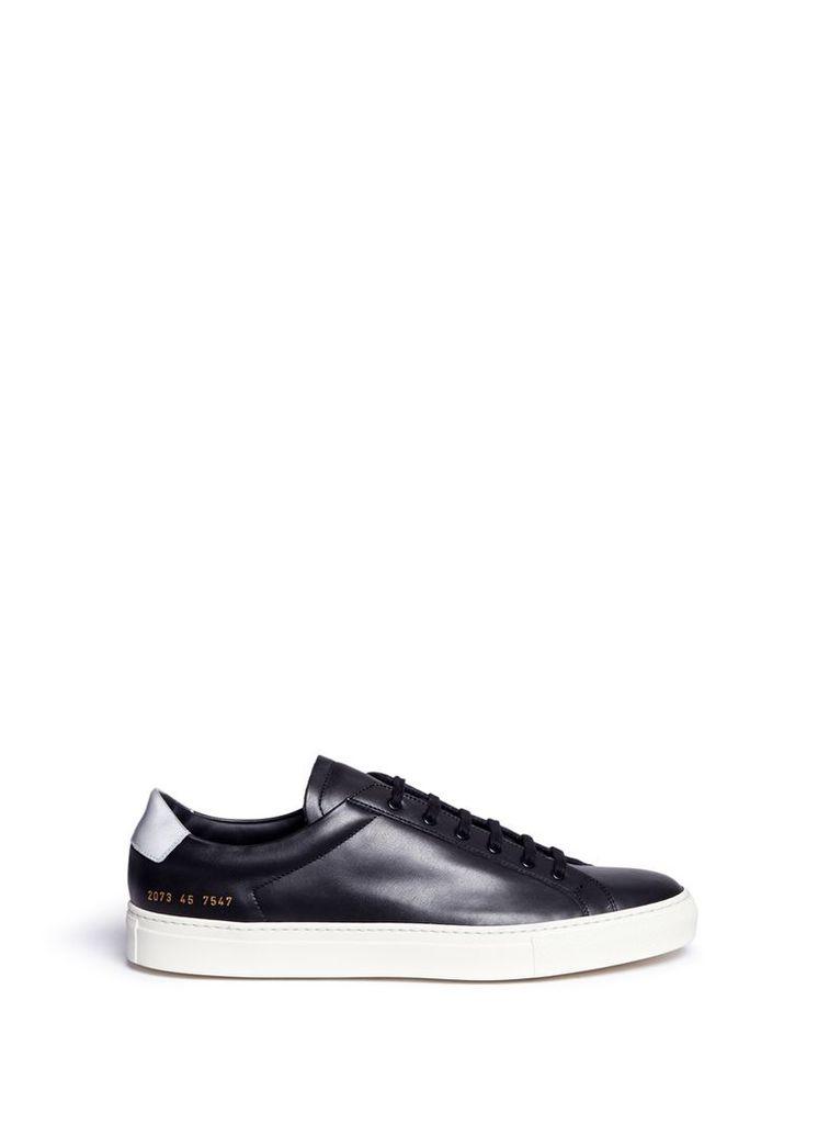 'Achilles Retro' leather sneakers