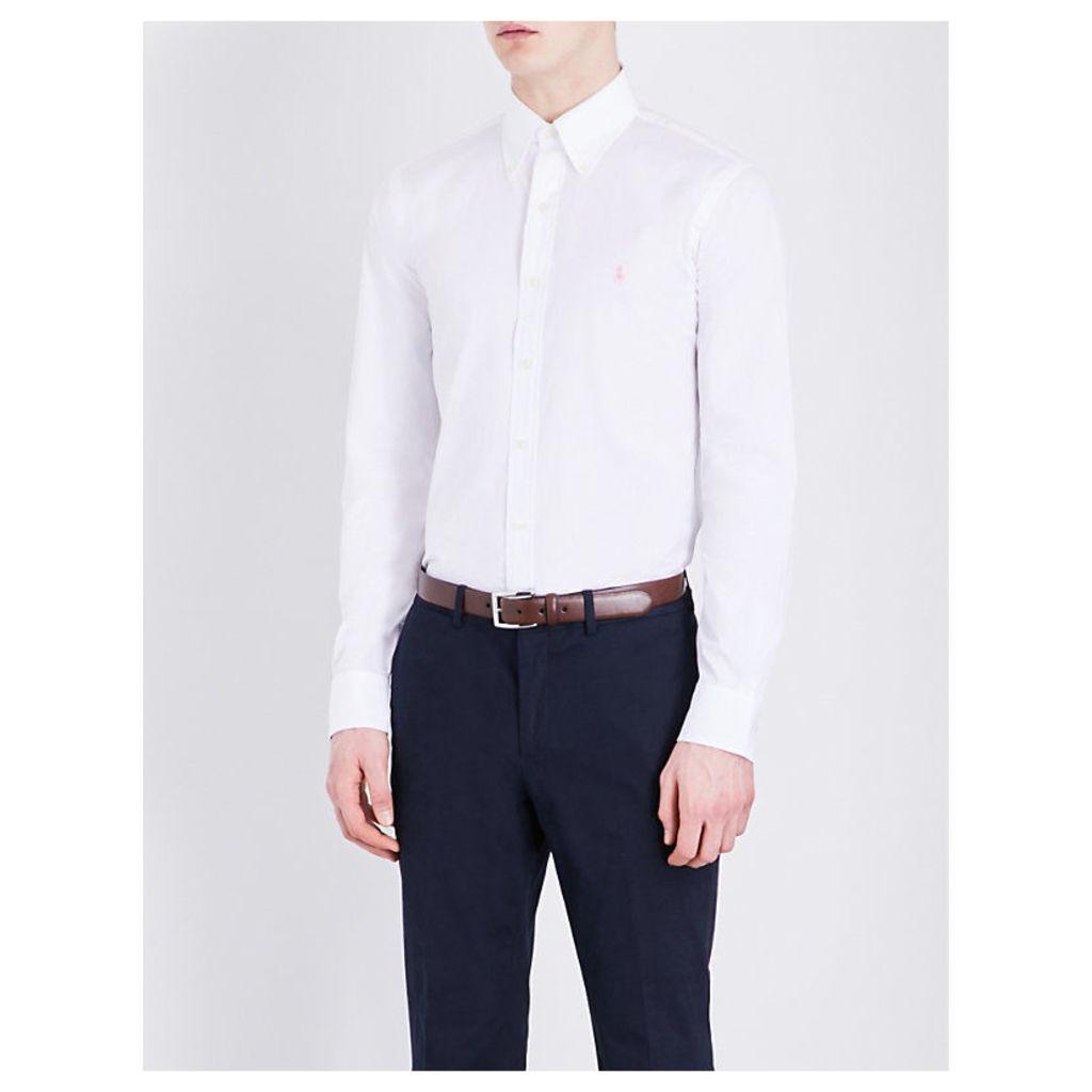 Regular-fit pure-cotton shirt
