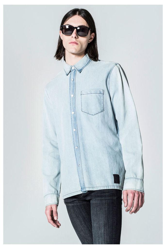 Squared Denim Shirt
