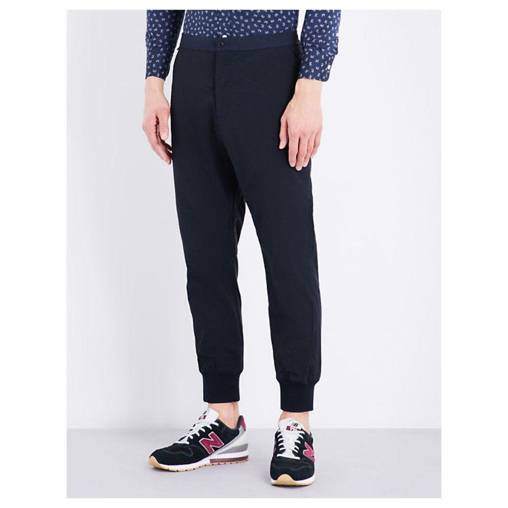Regular-fit tech-shell trousers