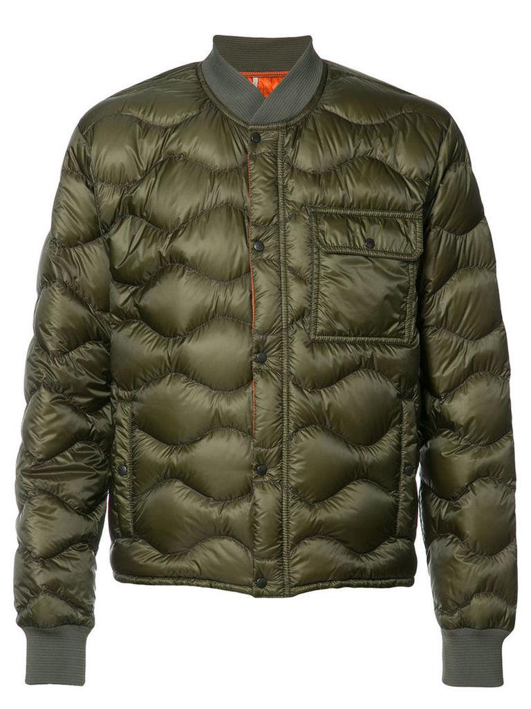 Moncler padded jacket, Men's, Size: 4, Green