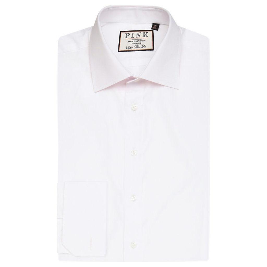 Thomas Pink Frederick super slim shirt, Mens, Size: 14/01/1900 12:00:00, White