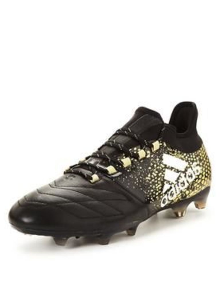 Adidas X 16.2 Firm Ground Leather Football Boots